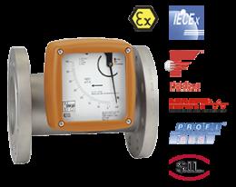 bgf-durchfluss.png: Vlotter-doorstroometer, -schakelaar BGF