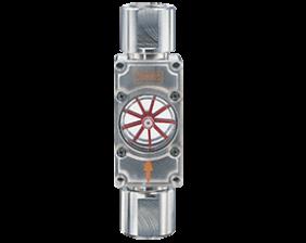 daf-1-durchfluss.png: Rotating Vane Flow Indicator DAF-1