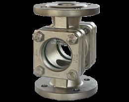 dat-2-durchfluss.png: Sichtglas mit Tropfrohr DAT-2