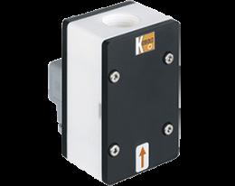dft-13-durchfluss.png: Forgókerekes áramlásmérő - impulzus/frekvencia kimenettel DFT-13