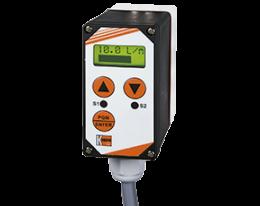 dft-13-e-g-durchfluss.png: Rotating vane- Counter/Dosing Electronics DFT-13...E/G