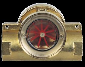 dig-durchfluss.png: Rotating Vane Flow Indicator DIG