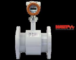dmh-durchfluss.png: Mágneses induktív áramlásmérő DMH