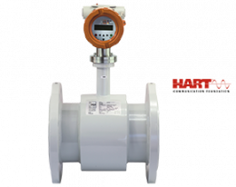 dmh-durchfluss.png: Magnetisch induktiver Durchflussmesser DMH