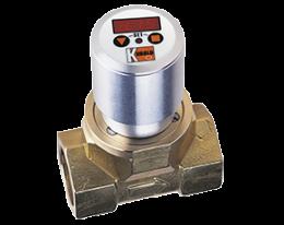 dpe-c3-durchfluss.png: Turbinenrad Durchflussmesser - Kompaktelektronik DPE-..C3