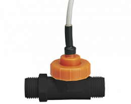 dpl-f5-durchfluss.png: Forgókerekes áramlásmérő kis áramlásokhoz - impulzus/frekvencia kimenettel DPL-..F5