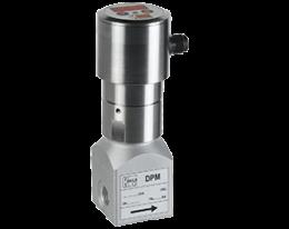 dpm-c3-durchfluss.png: Průtokoměr s lopatkovým kolem pro malá množství - kompaktní elektronika DPM-..C3