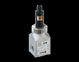 dpm-l3-durchfluss.png: Forgókerekes áramlásmérő - kis áramlásokhoz, analóg kimenet DPM-..L3