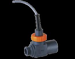 drs-f5-durchfluss.png: Turbinenrad Durchflussmesser / -wächter - Frequenzausgang DRS-..F5