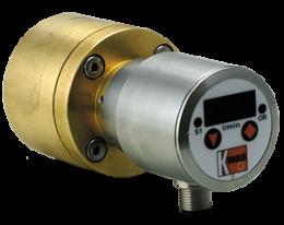 drz-c3-durchfluss.png: Gyűrűdugattyús áramlásmérő - összegzővel, kompakt elektronikával DRZ-..C3