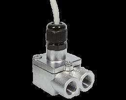 dtk-durchfluss.png: Forgókerekes áramlásmérő - kis áramlásokhoz DTK