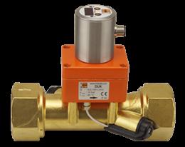 duk-c3-durchfluss.png: Ultrahangos áramlásmérső - kompakt elektronikával DUK-..C3