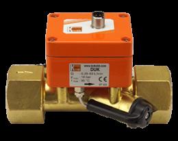 duk-f3-durchfluss.png: Ultraschall Durchflussmesser - Frequenzausgang DUK-..F3