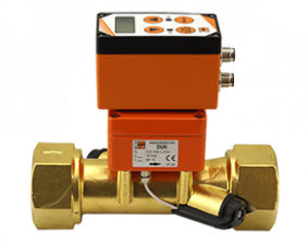 duk-g3-durchfluss.png: Ultrasonic Flowmeter - Counter / Dosing Unit DUK-..E/-G