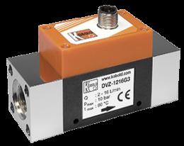 dvz-f3-durchfluss.png: Vortex Durchflussmesser - Frequenzausgang DVZ-..F3