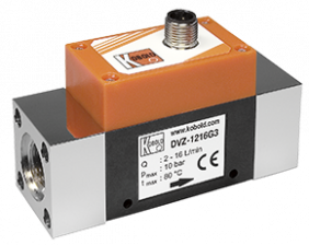 dvz-f3-durchfluss.png: Vortex Flowmeter - Pulse Output DVZ-..F3