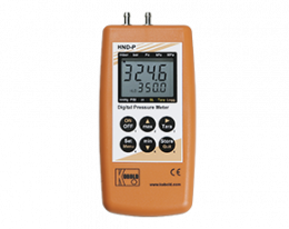 hnd-p-121-druck.png: Differential Pressure Hand-Held Unit with 2 Integrated Sensors HND-P121,-123,-126