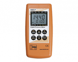 hnd-p-210-druck.png: Kézi nyomásmérő külső szenzorhoz HND-P210