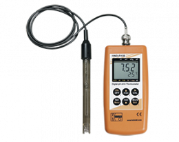 hnd-r-analyse.png: Hand-held pH, Redox, Temperatuurmeter type HND-R