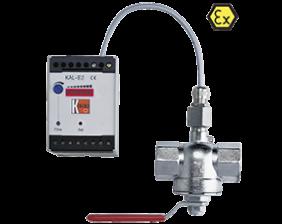 kal-e-durchfluss.png: Calorimetric Indicator/Switch KAL, KAL-E