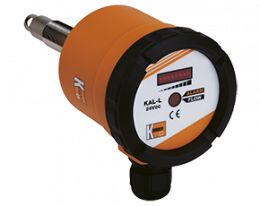 kal-l-durchfluss.png: Segnalatore di flusso calorimetrico per gas KAL-L