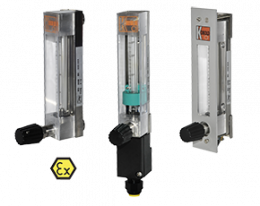 kdf-kdg-2-durchfluss.png: Lebegőtestes áramlásmérő - kis áramlásokhoz KDF/KDG-2