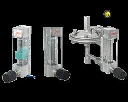 kdf-kdg-9-durchfluss.png: Lebegőtestes áramlásmérő - kis áramlásokhoz KDF/KDG-9