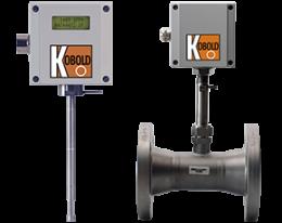 kes-134-durchfluss.png: Débitmètre massique pour gaz KES-1/-3/-4