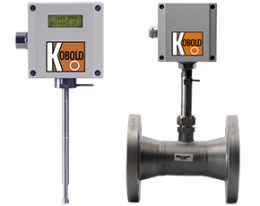 kes-134-durchfluss.png: Flussimetro massico per Gas KES-1/-3/-4