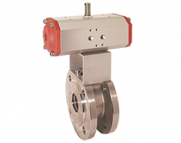 kup-vk-zubehoer.png: Ball Valve with Pneumatic Actuator KUP-VK