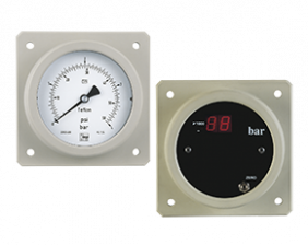 man-druck.png: Pressure Gauges with Diaphragm for PCB Manufacture MAN-..