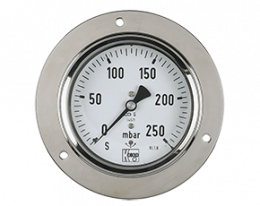 man-k-druck.png: Capsule Element Pressure Gauges MAN-K