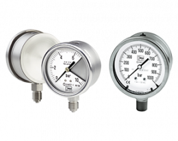 man-n-s-druck.png: All Stainless Steel Bourdon Tube Pressure Gauges for Exceptional Safety MAN-N...S