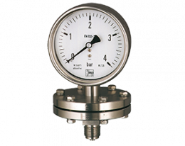 man-p-druck.png: Plattenfedermanometer MAN-P