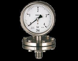 man-p-druck.png: Manometro di pressione a diaframma MAN-P