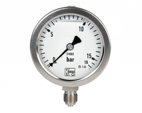 man-r-druck.png: Tlakoměry pro chemický průmysl  MAN-R