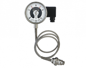 man-rf-m1-drm-620-druck.png: All Stainless Steel Pressure Gauge with All Stainless Steel Pressure Gauge with In-Line Diaphragm Diaphragm MAN-RF..M1..DRM-620