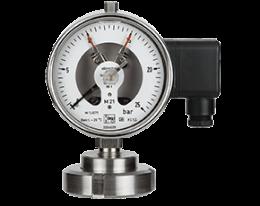 man-rf-m21-drm-602-druck.png: Membrános nyomásmérő kapcsolóval DIN 11851 DIN 11851 MAN-RF...M21..DRM-602
