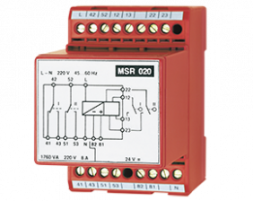 msr-020-zubehoer.png: Pulse-Contact Protection Relay MSR