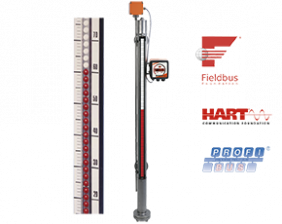 nbk-03-fuellstand.png: Indicador de Nivel tipo Bypass NBK-03..NBK-33