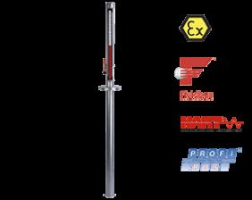 nbk-04-atex-fuellstand.png: 탱크 상단 설치용 레벨지시기/측정기  NBK-04 with ATEX