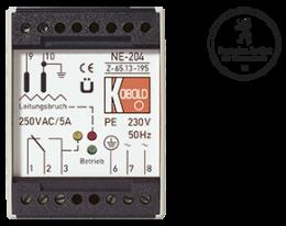 ne-204-fuellstand.png: Elettrodo con relè §19 WHG NE-204