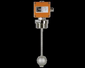 nmt-fuellstand.png: Magnetostriktiver Füllstandsmesser NMT