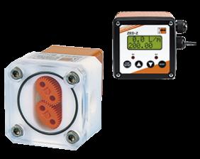 ovz-zed-durchfluss.png: Oval Gear-Dosing Electronic OVZ with ZED