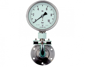 p1-man-rf-d.png: Pressure Gauge with Membrane Diaphragm Seal MAN-RF..D