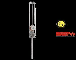 pit-u-durchfluss.png: Mágneses induktív áramlásmérő - beszúrós PIT-U