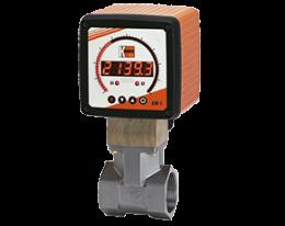 rcd-k-durchfluss.png: Diferenčního tlakový průtokoměr RCD-..K