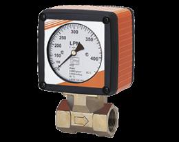 rcd-z-durchfluss.png: Diferenčního tlakový průtokoměr RCD-..Z