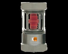 s6-dah1.png: Forgókerekes, rotoros áramlásjelző DAH