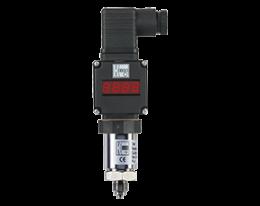 sen-87-auf-druck.png: Tlakový senzor s keramickým čidlem a Plug-na displeji SEN-87 s AUF